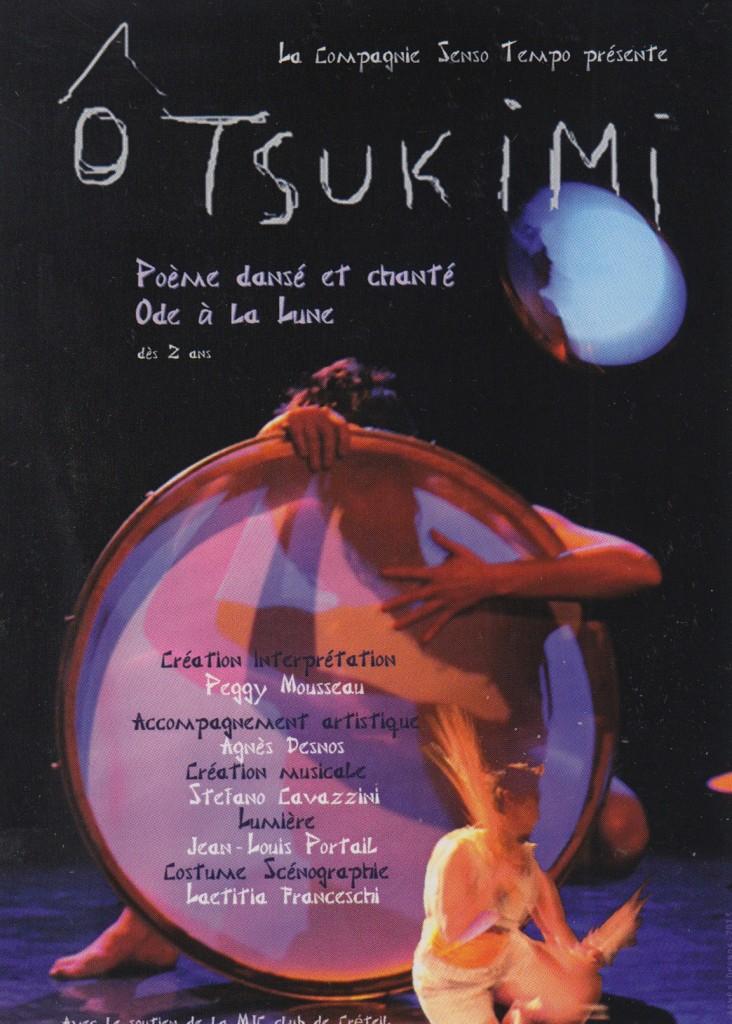 scénographie costume O Tsukimi danse contemporaine Laëtitia Franceschi